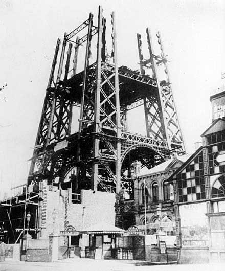 Building Blackpool Tower