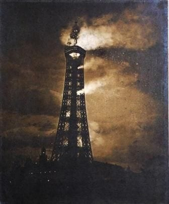 Fire of 1897 at Blackpool Tower